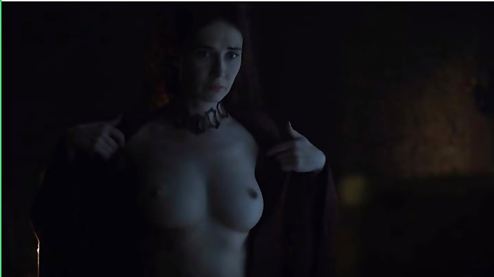 Carice Van Houten shows it