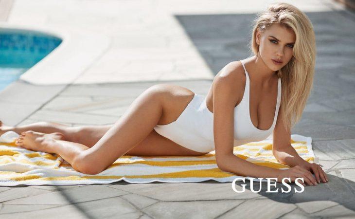 Charlotte McKinney - Guess Swimwear '19
