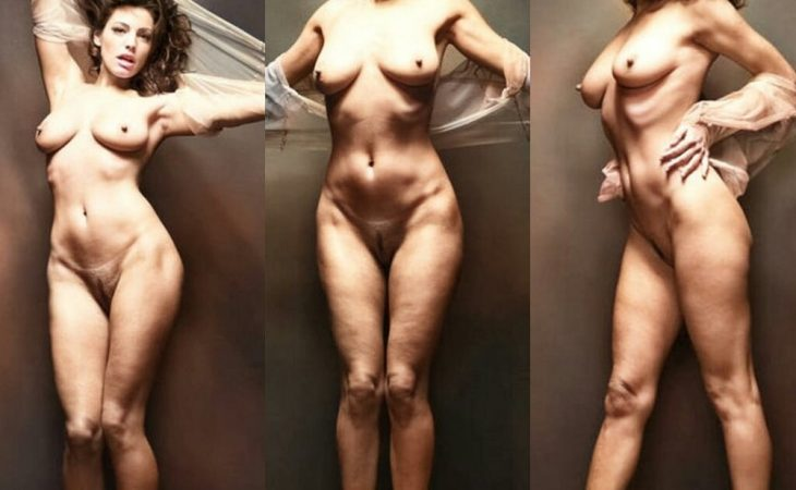 Kelly Brook Fully Nude For a Photoshoot