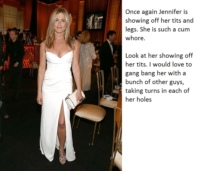 My Celeb Captions - Jennifer Aniston