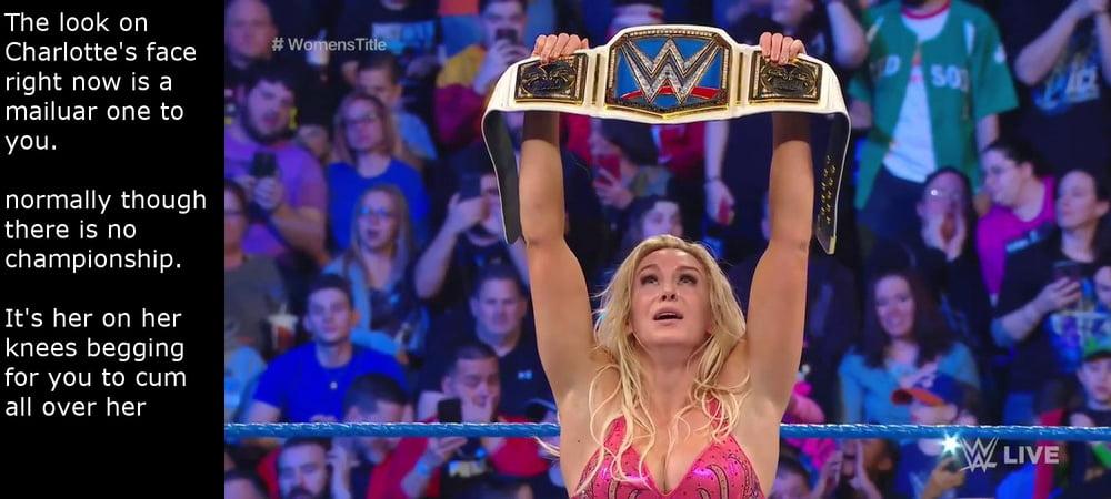 WWE Charlotte Flair Captions