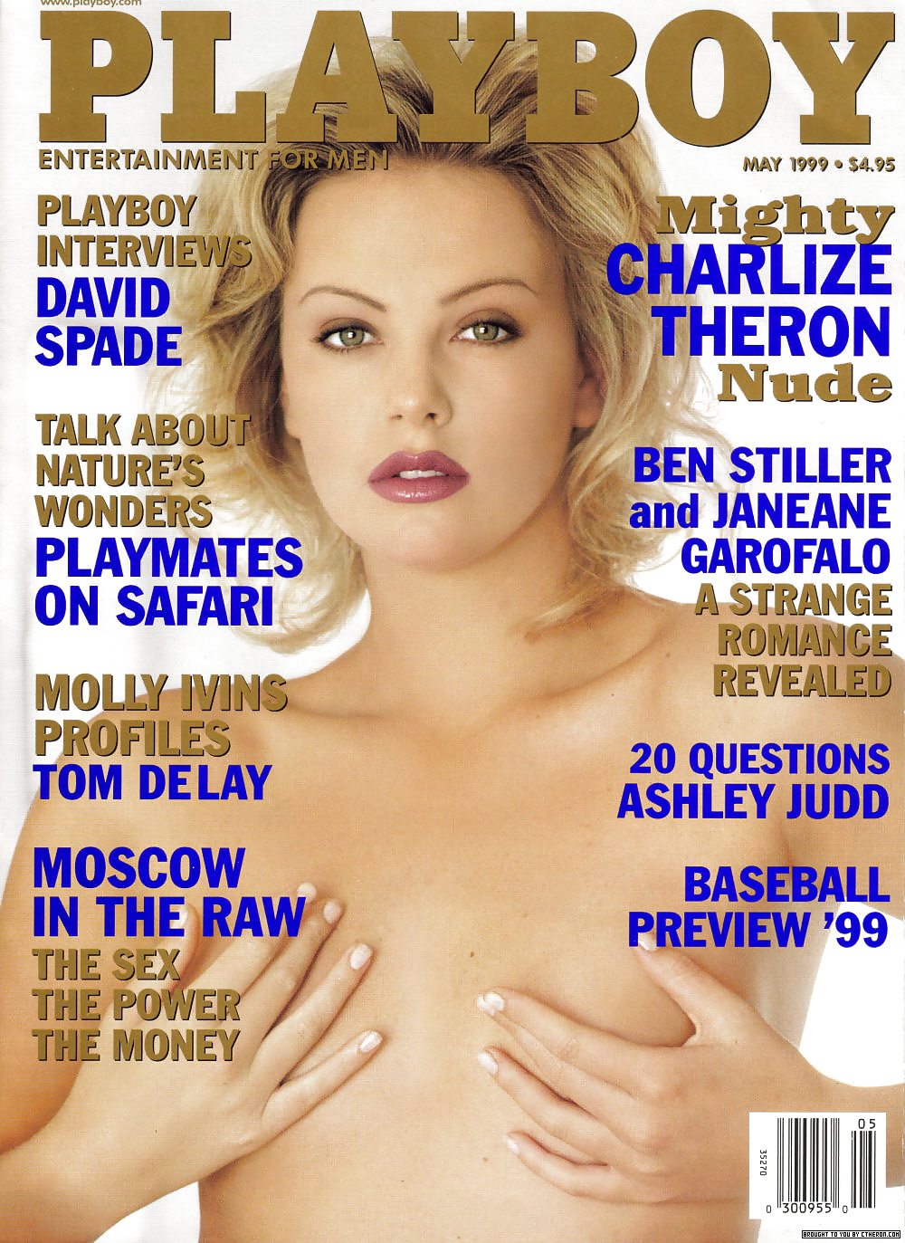 charlize theron playboy penthouse pet pussy nude